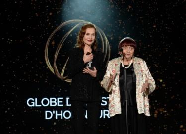 Scène Agnès Varda & Isabelle Huppert ©Rachid BellakpoolBestimage